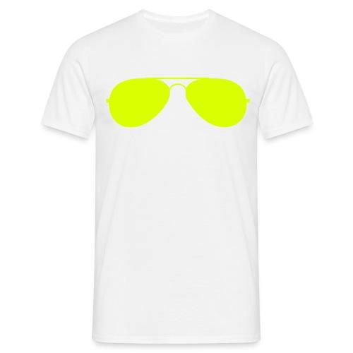 Sonnenbrille - Männer T-Shirt