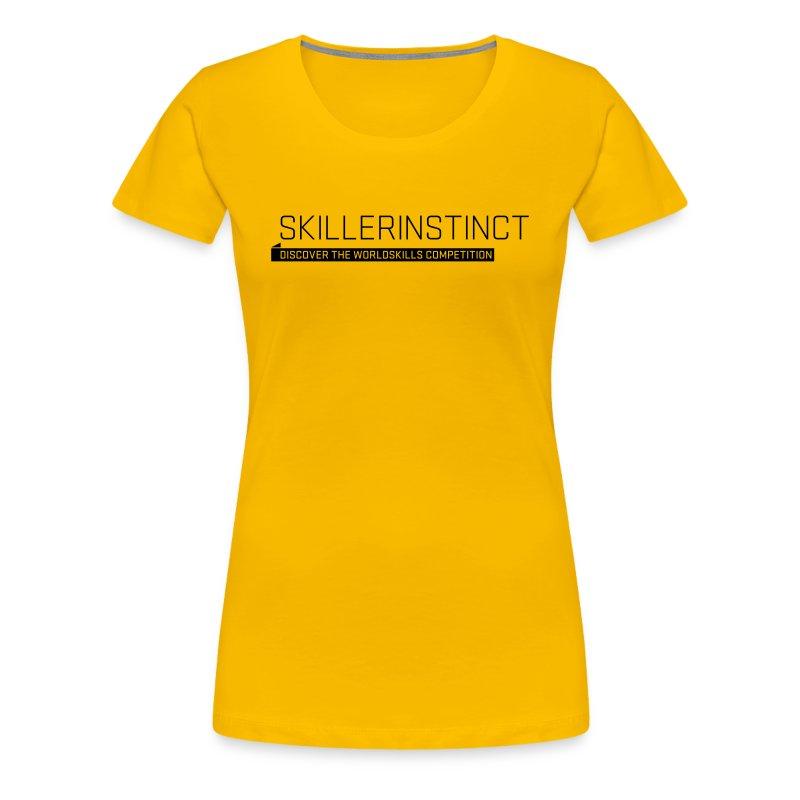 Skillerinstict Women's T-Shirt - Women's Premium T-Shirt