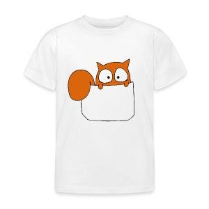 T-shirt enfant écureuil en poche - T-shirt Enfant