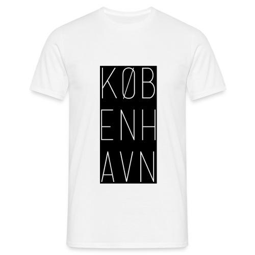 Basic København T-Shirt 2 (Black Logo) - Men's T-Shirt