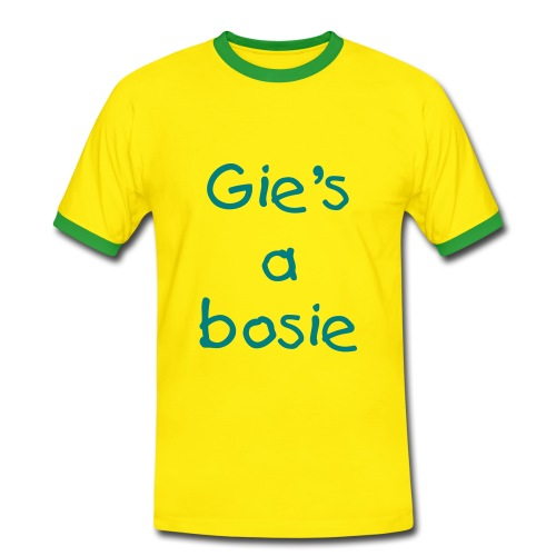Gie's a bosie men's Ringer T-shirt - Men's Ringer Shirt