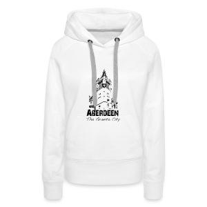 Aberdeen - the Granite City women's hoodie - Women's Premium Hoodie