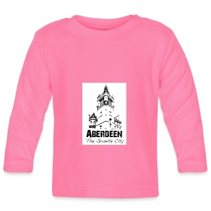 Aberdeen - the Granite City baby long-sleeve T-shirt - Baby Long Sleeve T-Shirt