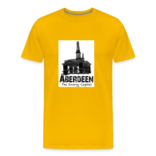 Aberdeen - the Energy City men's classic T-shirt - Men's Premium T-Shirt