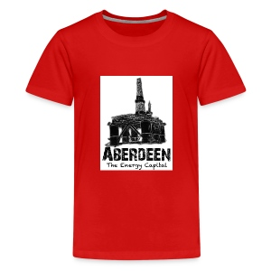 Aberdeen - the Energy Capital teenage Classic T-shirt - Teenage Premium T-Shirt