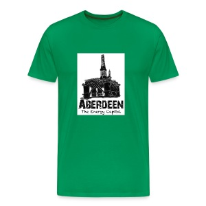Aberdeen - the Energy Capital men's Classic T-shirt - Men's Premium T-Shirt