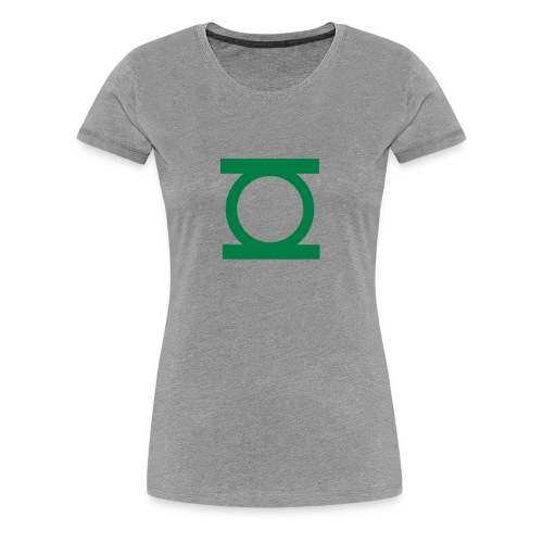 Womans 'Green Lantern' Tee - Women's Premium T-Shirt