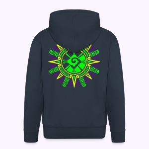 Moonstone Hunab Ku UV-Neon Hooded Jacket - Mannenjack Premium met capuchon