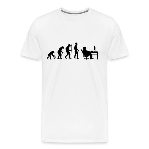 Evolution of Gaming - Männer Premium T-Shirt