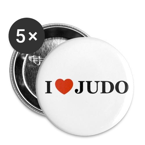 Spilla I love Judo - Confezione da 5 spille media (32 mm)