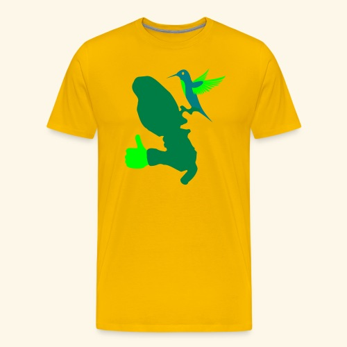 MARTINIQUE LIKES HUMMINGBIRD - T-shirt Premium Homme