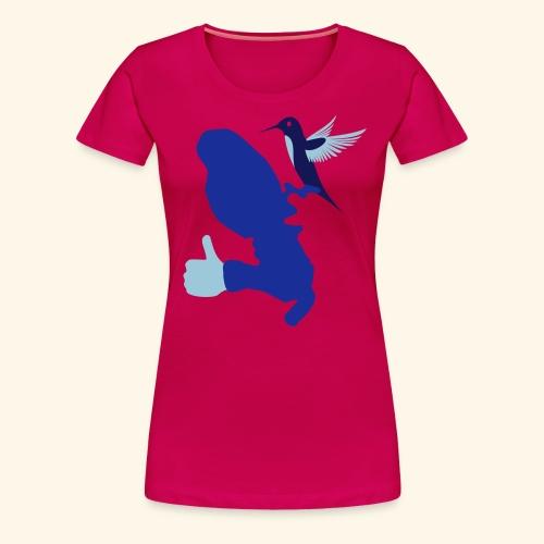 MARTINIQUE LIKES HUMMINGBIRD - T-shirt Premium Femme
