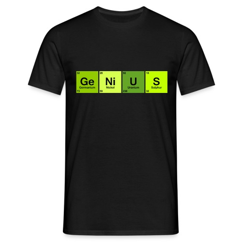 Genius green - Men's T-Shirt