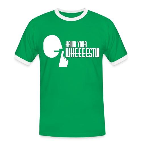 Hawd Your Wheeeest - Men's Ringer Shirt
