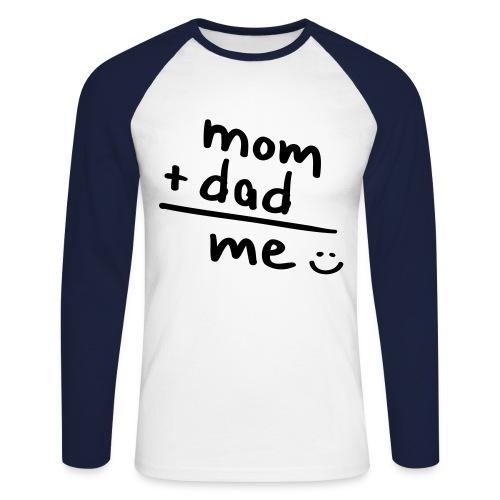 I love my parents Sweater - Mannen baseballshirt lange mouw
