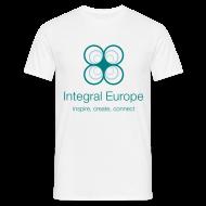 T-Shirts ~ Men's T-Shirt ~ Integral Europe, white