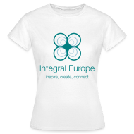 T-Shirts ~ Women's T-Shirt ~ Integral Europe, white, women