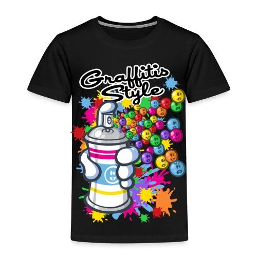 tee shirt enfants graffitis style - T-shirt Premium Enfant