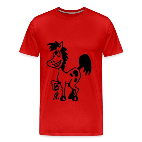 tee shirt cheval - T-shirt Premium Homme
