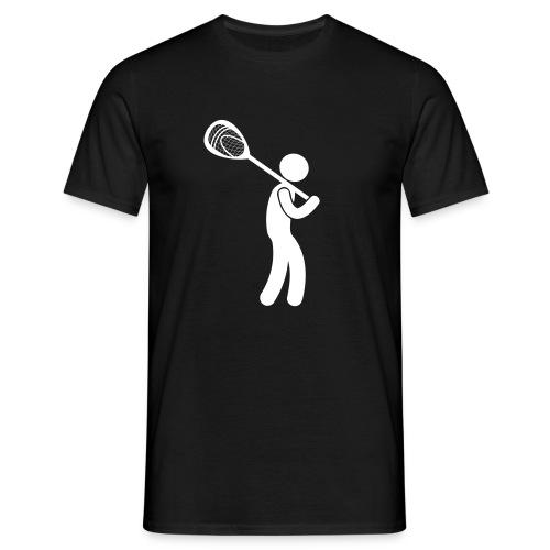 GoalieStickman - Männer T-Shirt