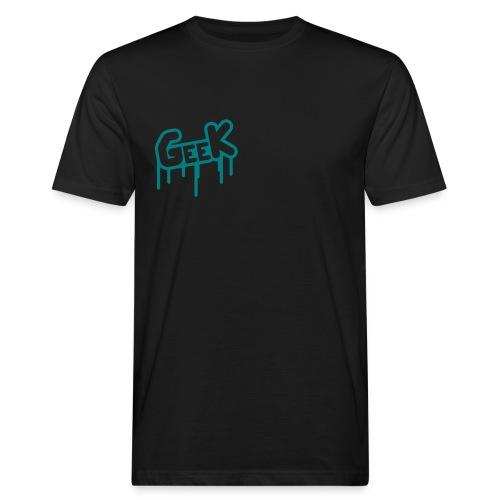 Geek - Männer Bio-T-Shirt