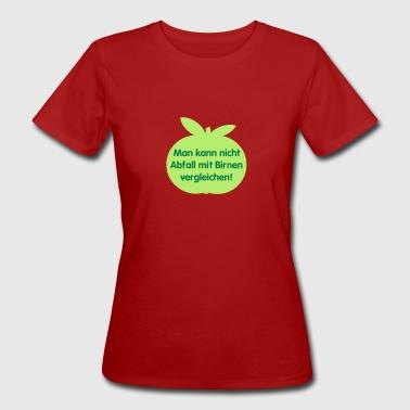 Wortspielerei - Frauen Bio-T-Shirt