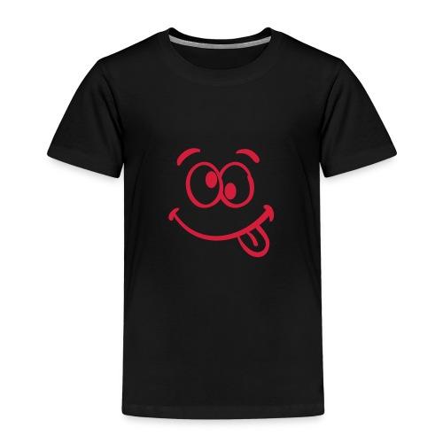 Crazy Face - Kinder Premium T-Shirt