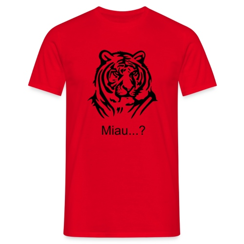Miau...? - Men's T-Shirt