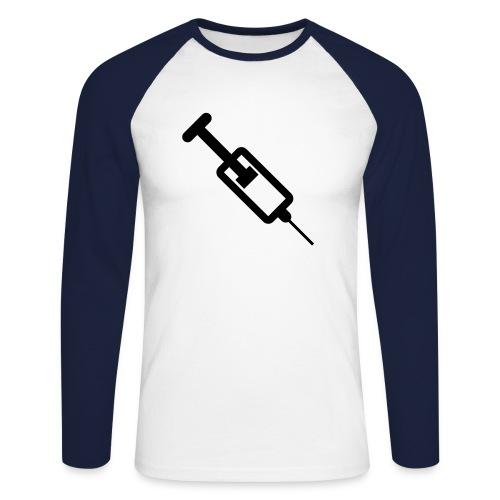 Superfreax Pullover - Männer Baseballshirt langarm