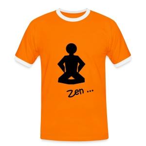 Zen - Mannen contrastshirt