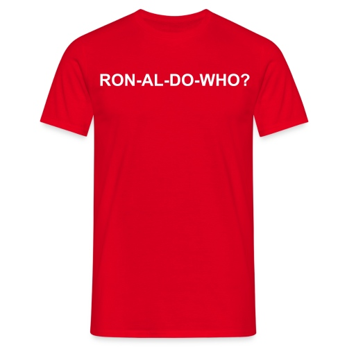 ronaldowho - Men's T-Shirt