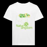 T-shirts ~ Organic børne shirt ~ Natur & Ungdom børne, øko, grønt logo
