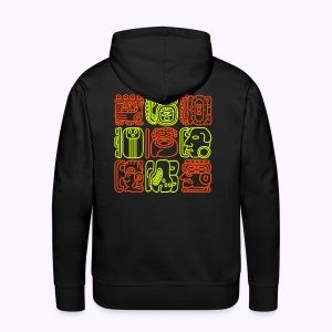 Bolontiku Tiki: Back print Men's Hoodie - Mannen Premium hoodie