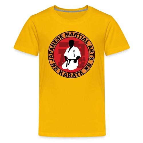karate - Teenage Premium T-Shirt
