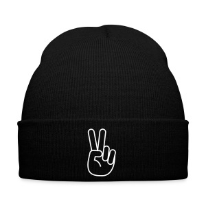 rightxside - Peace-Beanie - Wintermütze