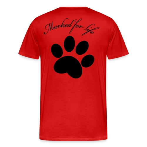 Marked for life! - Premium-T-shirt herr