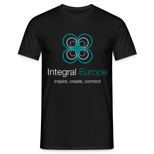 Integral Europe, Black - Men's T-Shirt