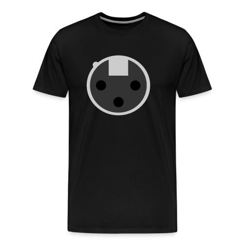 XLR Stecker - Männer Premium T-Shirt