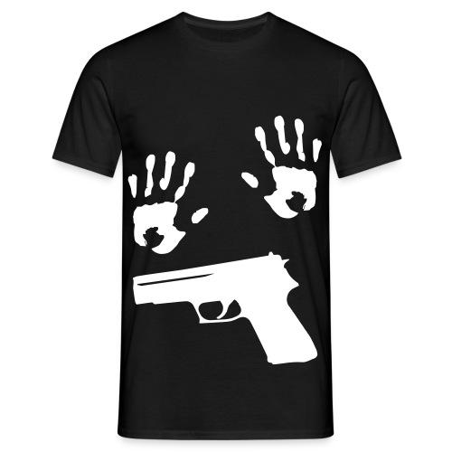 mains guerre - T-shirt Homme