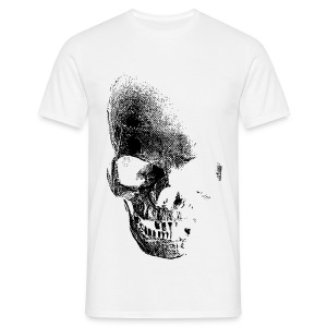 Faded mens skull top - Men's T-Shirt