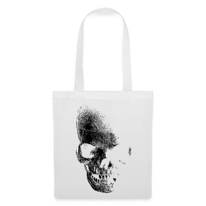 Faded skull tote - Tote Bag