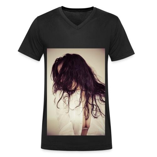 Carlota's style - T-shirt bio col V Stanley & Stella Homme