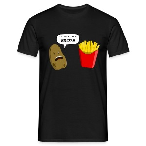 Patate vs. Frites - T-shirt Homme