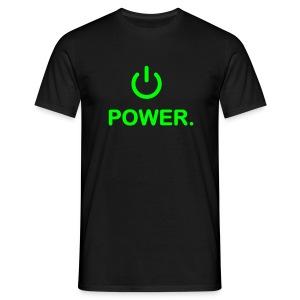 Power On! - Men's T-Shirt