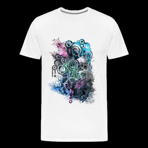 Modern Skull - Männer Premium T-Shirt