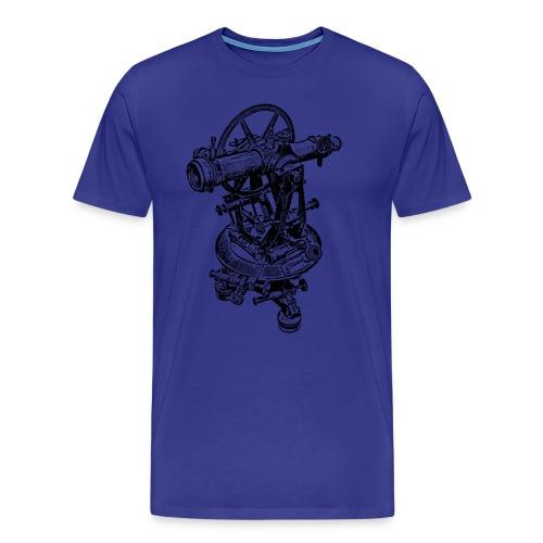 Old Theodolite - Men's Premium T-Shirt