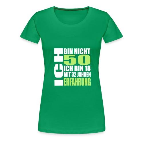 Zum 50. Geburtstag - Frauen Premium T-Shirt