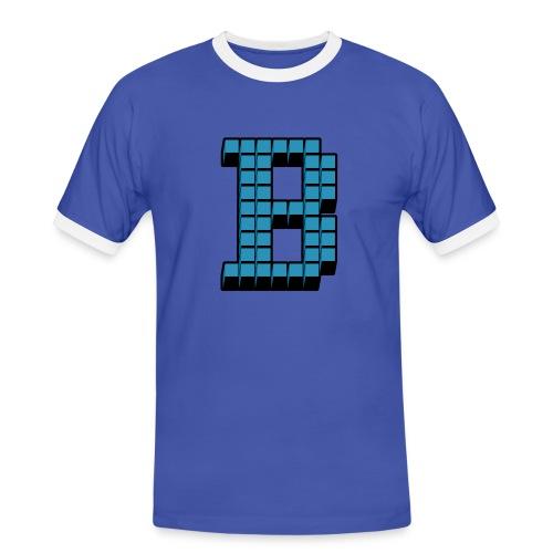 Programming Languages: BASIC (velvet print) - Men's Ringer Shirt