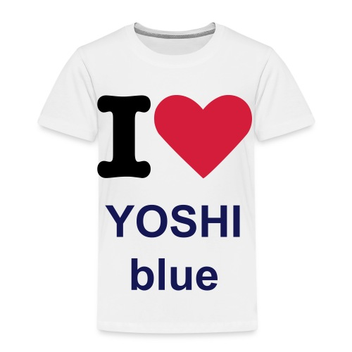 i love yoshi green - Kids' Premium T-Shirt