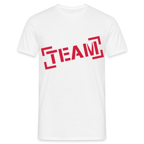 Team t-shirt - Mannen T-shirt